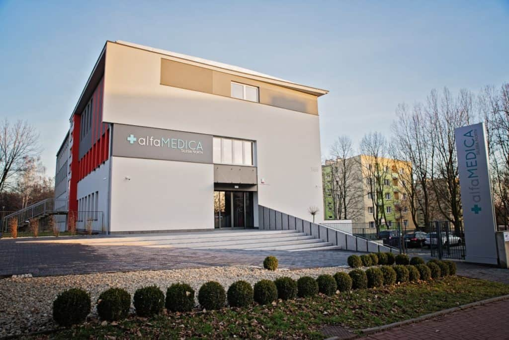 Alfamedica centrum medyczne - Echolaser